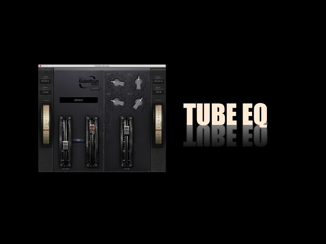 FD2N Russian Edition Tube EQ&Saturator - Babelson