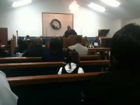 Initial Sermon of Minister Robert E. Bonner @ New Birth Pentecostal Church, Inc. Pt. 1