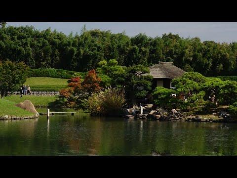 RX10 XAVC-S:Visit to Okayama castle and Korakuen garden 岡山城と岡山後楽園を訪ねる