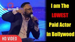 I am The LOWEST Paid Actor in Bollywood | Rahul Bose at Goa IFFI 2018