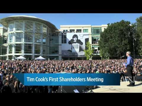 Apple Shareholders Meeting