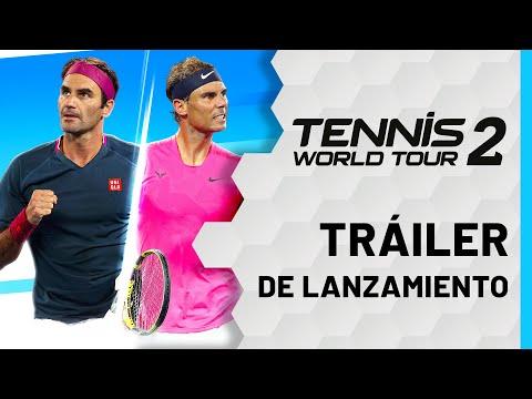 Tennis World Tour 2 - Switch Launch Trailer
