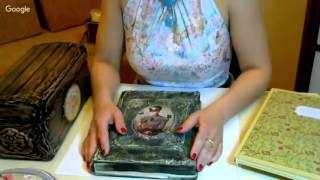 онлайн курс «Имитация мятой кожи Книга»
