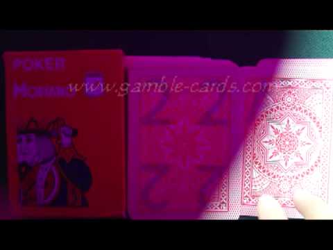 POKER-PLAYING-CARDS--Modiano-cristallo(Red)--Marked-cards.avi