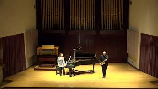 LIVE - Faculty Artist Series Recital: Edward Goodman, saxophone