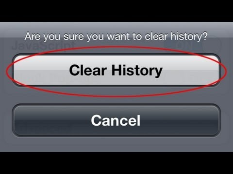 View Deleted History On iPhone - iOS 6