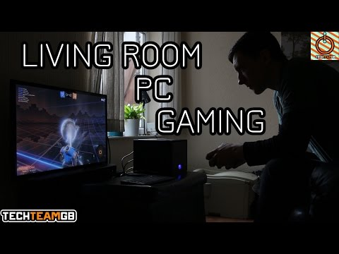 Why living room PC gaming is awesome.