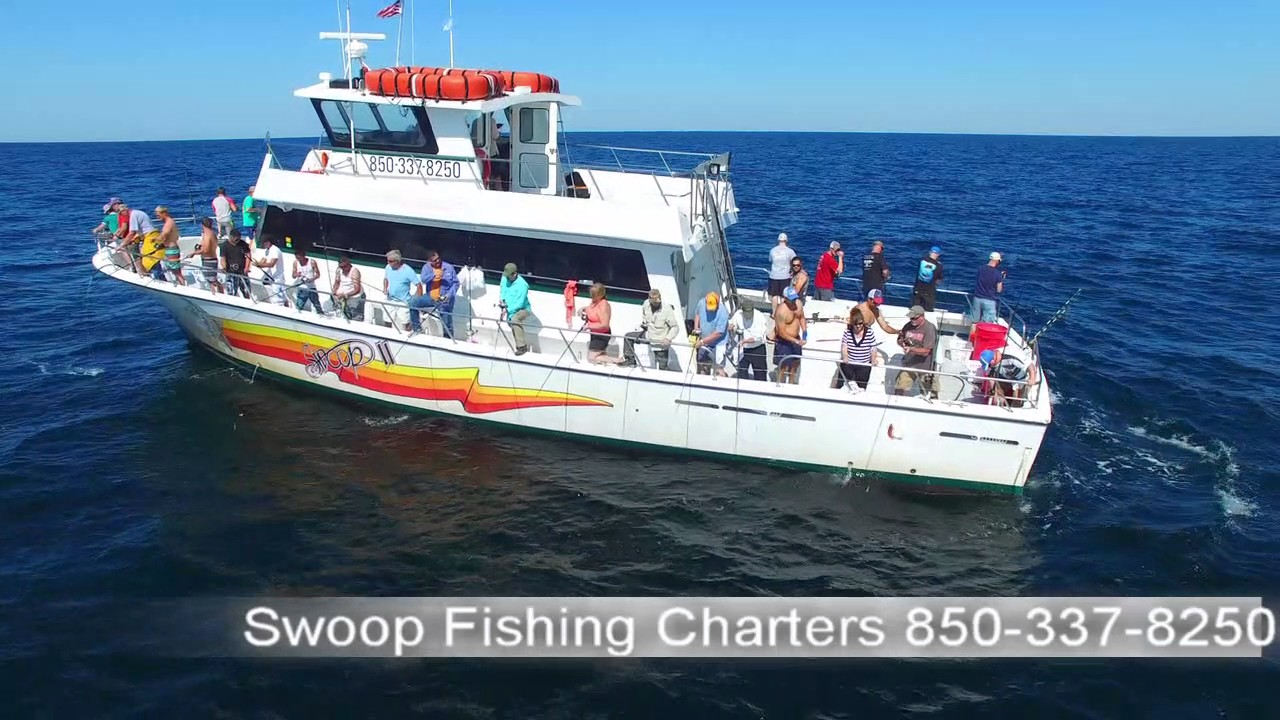 Swoop deep sea fishing charters youtube for Deep sea fishing in destin fl
