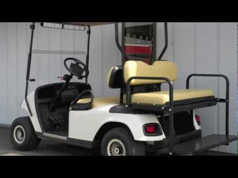 2005 E-Z-GO Street-Ready Gas Golf Cart White