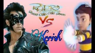 Rudra _baalveer _veer_vs:_Krrish fight_fan made video