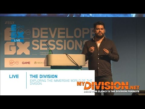 Tom Clancy's The Division - EGX 2014 Presentation (Rodrigo Cortes about Immersion)