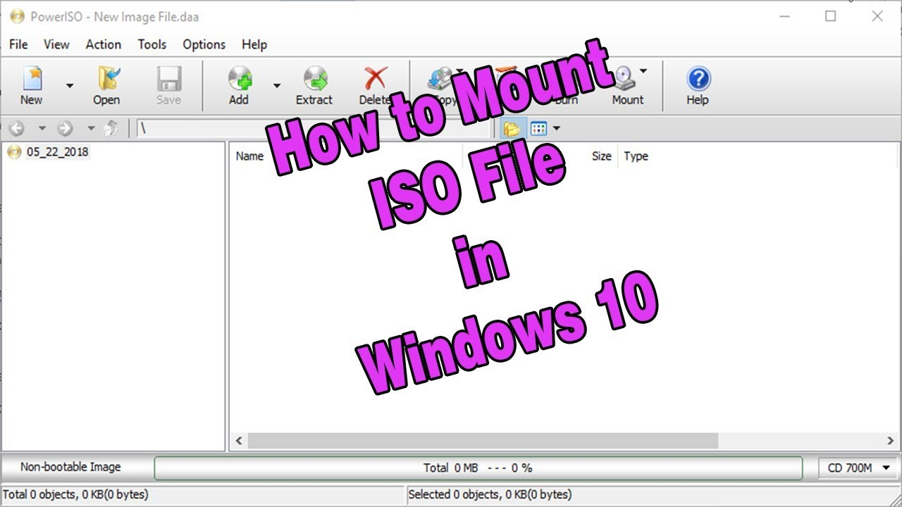 How to Mount ISO File in Windows 10 | PowerISO Tutorials for Beginners