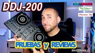 Pioneer DDJ 200 (Pruebas y Reviews) en Español