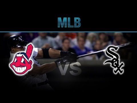 MLB White Soxs vs Indians