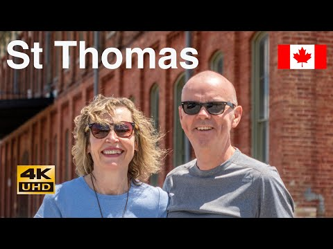 St Thomas City Railway Capital Of Canada 2019