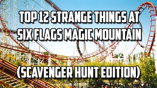 Six Flags Magic Mountain Scavenger Hunt (Awesome List)
