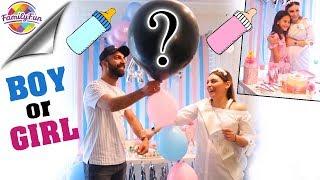 BABY GENDER REVEAL PARTY 🎉👶 - SURPRISE BOY or GIRL ? Geschlecht steht fest! Family Fun
