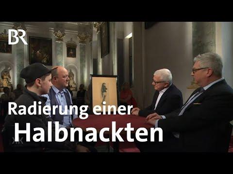 Kunst Fürs Herrenzimmer: Radierung Einer Halbnackten Witwe | Kunst + Krempel | BR