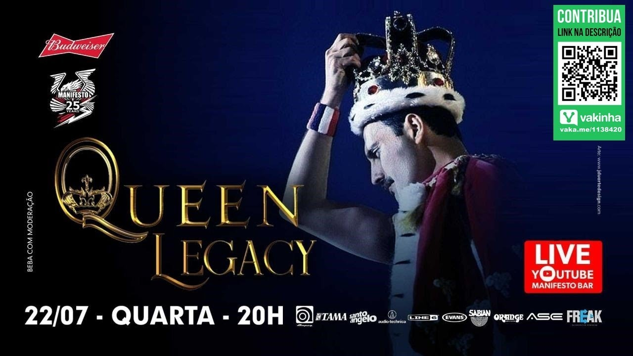 Manifesto Stay Home/QUEEN LEGACY (Queen tribute)
