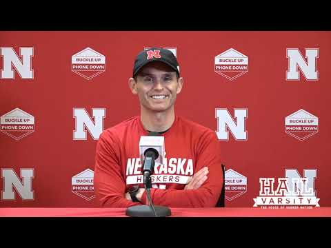 Nebraska Football: Matt Lubick Talks Third Downs, Omar Manning and More