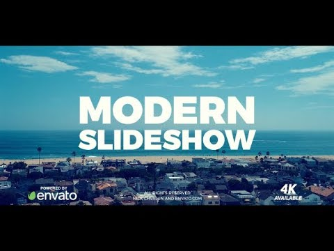 Slideshow - After Effects template - 동영상