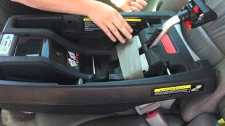 Asana35 Infant Car Seat Installation