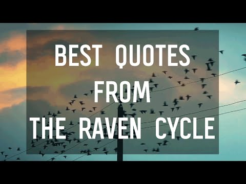 Quotes from The Raven Cycle by Maggie Stiefvater