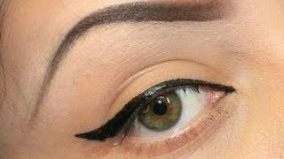 PERFECT WINGED(CAT EYE) TUTORIAL  USING TAPE Thumbnail