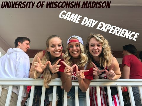 University of Wisconsin Football Game Day 2017