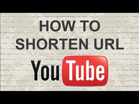 How to shorten Youtube URL