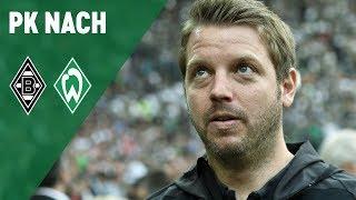 Pressekonferenz mit Dieter Hecking & Florian Kohfeldt | Borussia Mönchengladbach - Werder Bremen 1:1