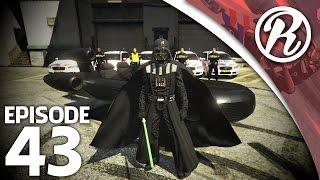 [GTA5] NEDERLANDSE POLITIE VS DARTH VADER - Royalistiq | Politie en boefje #43