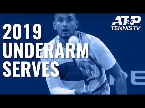 2019: Year of the Underarm Serve