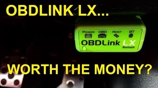 OBDLink LX ...is it worth the money?