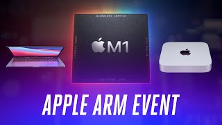 Apple's Arm-based M1 Mac event in 10 minutes