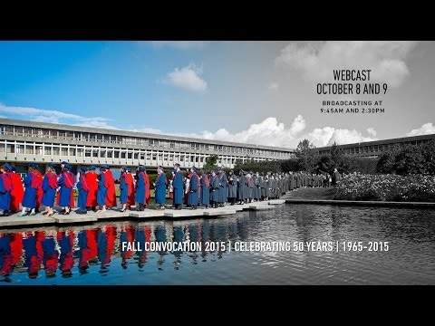 Simon Fraser University Convocation 2015 -  Live Webcast