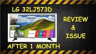 L.G. 32LJ573D Smart LED T.V. Review After 1 Month