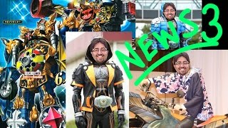 Japanime Talks News Episode 3: New Riders and New Toys ^__^