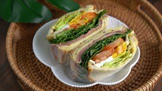 클럽샌드위치 만들기 :: 시각적 쾌감 :: 맛있는 샌드…