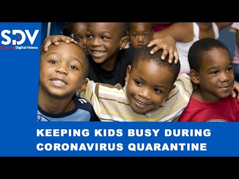 Simple activities to keep your kids busy at home during the COVID-19 quarantine