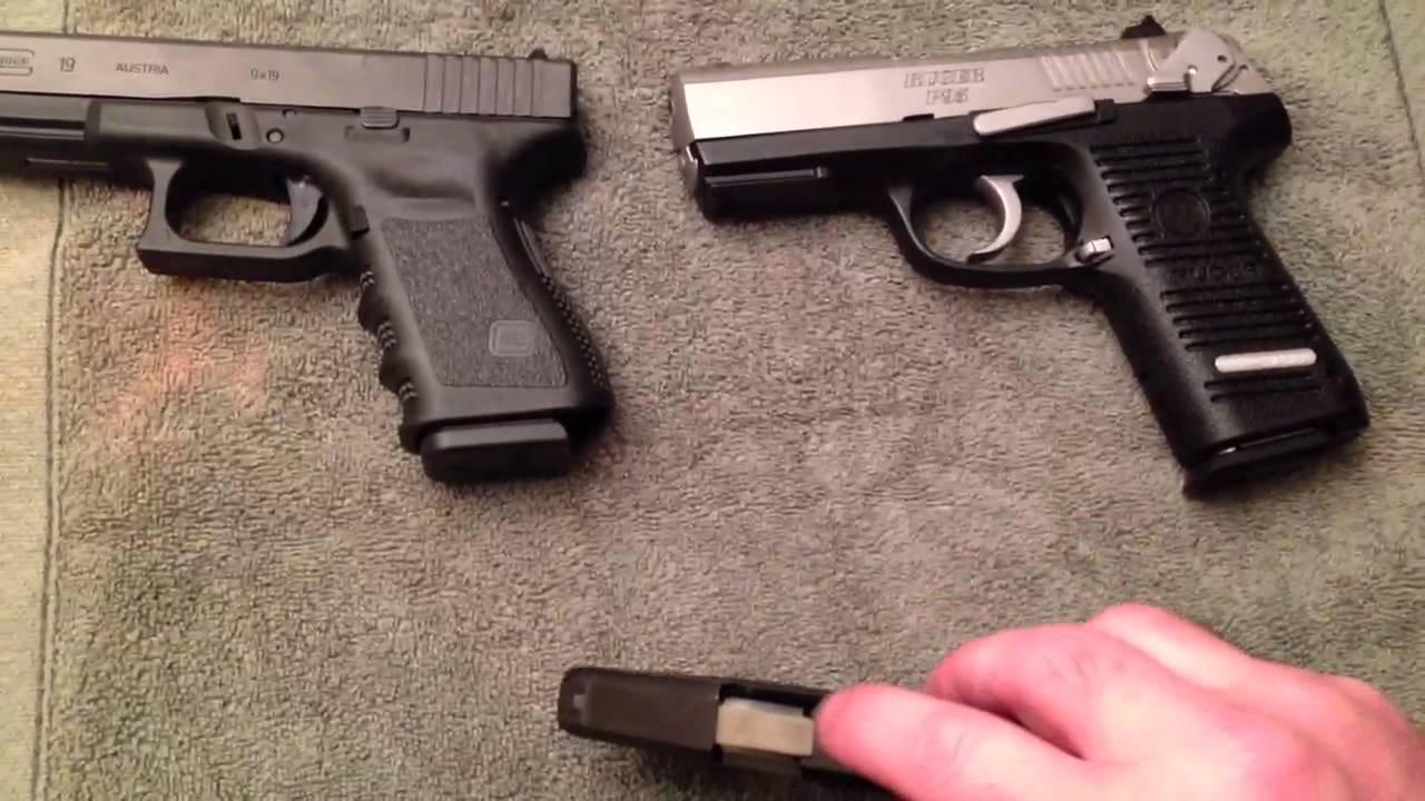 Glock 19 Gen 3 Ruger P95 Ruger Lcp