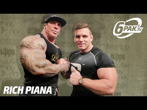 Rich Piana interview for polish fans | Plany na wizytę w Polsce ?!?!