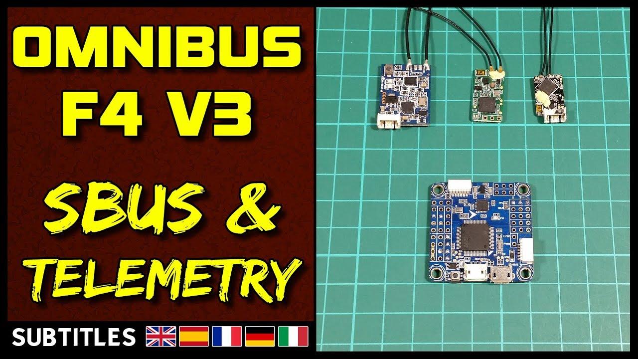 Omnibus F4 V3 - Sbus  U0026 Telemetry
