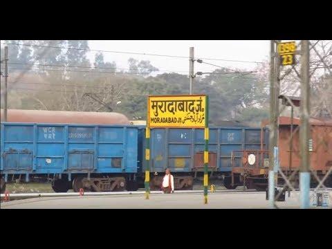 Moradabad Junction Railway Station  Indian Railways - YouTube