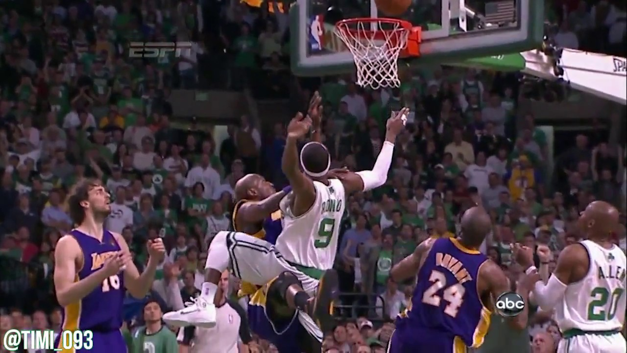 Throwback: Rajon Rondo gets up HIGH to put it back (06/13/2010)