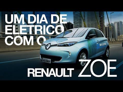 Um dia de elétrico com o Renault Zoe - Webmotors