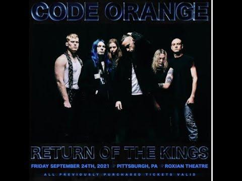 """Code Orange have set a live return """"r e t u r n o f t h e k i n g s""""!"""