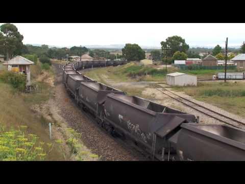 Wallerawang coal train HD