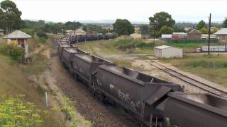 Wallerawang coal train HD