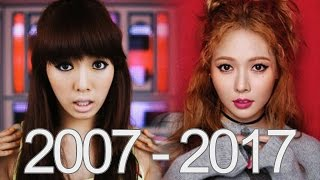 HYUNA Full Evoulution 2007 - 2017 (All Bands)